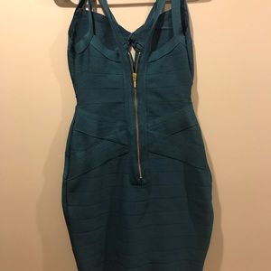 Emerald Green Charlotte Russe Bodycon dress